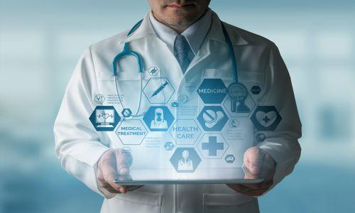 نمونه سایت پزشکی