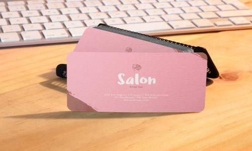 کارت ویزیت برای آرایشگر مو