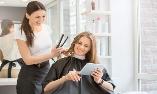 متن تبلیغاتی آرایشگاه زنانه